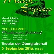 …der Musik-Express kommt an!
