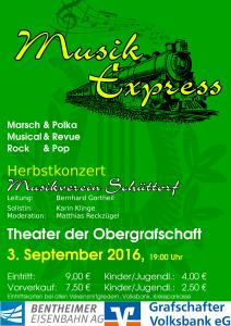Plakat MV Konzert