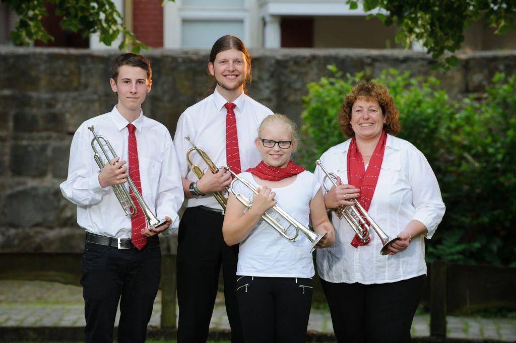 Unser Trompetenregister (Foto: Andreas Kleve)