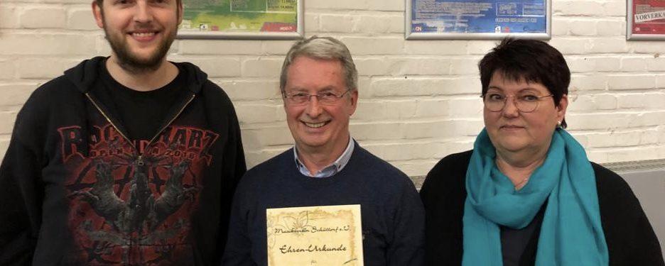Ehrenmitglied Ludwig Lübke