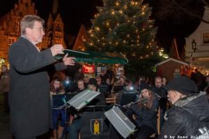 Konzert auf dem Weihnachtsmarkt